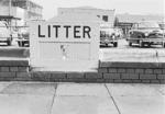 Street litter bin