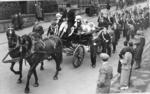 Laurieston Gala Day procession coming down Boyd Street (School Brae).