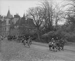 The Hunt leaving Callendar House
