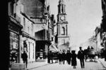 Falkirk High St & Steeple from west