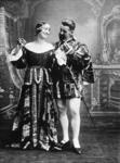 """Bo'ness Operatic Society.  Principals in """"Merrie England"""""""
