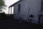 Horse gin machinery set into wall of farmhouse, Shieldhill Farm