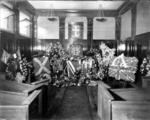 Floral tributes to Capt James Fitz Morris, Cincinnati, USA