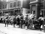 Start of Capt James Fitz Morris's funeral cortege, Cincinnati, USA