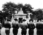 Burial Service for Capt James Fitz Morris, Cincinnati, USA