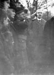 Bugler at the funeral of Capt James Fitz Morris, Polmont