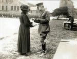 [Mother of Capt James Fitz Morris] with [Lieut-General F J Davies]