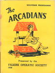 """Programme for """"The Arcadians"""""""