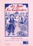 Programme for Ali Baba and the Far Eastenders