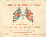 Ticket of admission to Falkirk Pavilion