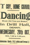 Advertisements for dance