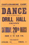 Advertisement for dance