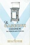 Advertising leaflet for Gasecon cooker