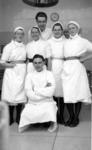 Theatre Nurses and Doctors at Falkirk Royal Infirmary