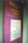 """Welcome to Callendar House"" panel"
