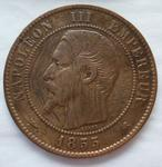coin; centime (five)