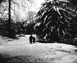 Two people in the snow