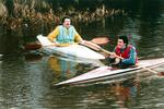Canoeists on Forth & Clyde Canal