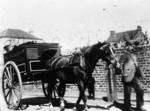 Mathieson's horse drawn delivery van