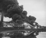 Industrial fire,  Scottish Tar Works