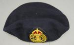 beret; man's Civil Defence