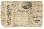 banknote; pound (five)