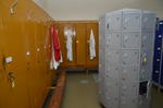 Staff Lockers and Changing Rooms in McCowan's Factory, Stenhousemuir