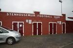 Entrance to Stenhousemuir Football Club, Stenhousemuir
