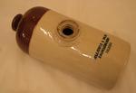 bottle; hot water