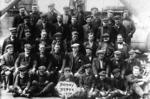 Group of shipbreaking workers