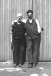 James Scott and his father
