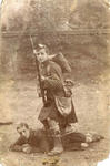 Two WW1 soldiers in France