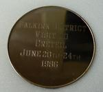 "medal; commemorative ""Creteil Twinning"""