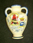 """vase; """"Falkirk/Quimper"""""""
