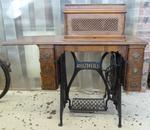 sewing machine; treadle