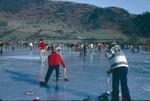 Falkirk Curling Club members, Lake of Menteith