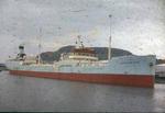 Ship 'Aase Maersk' at Grangemouth docks
