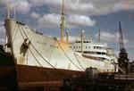 Ship 'Alva Star' at Grangemouth docks