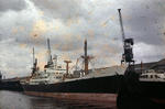 Ship 'Author' at Grangemouth docks