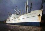 Ship 'Benny Skou' at Grangemouth docks