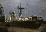 Ship 'Campero' at Grangemouth docks