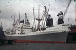 Ship 'City of Lancaster' at Grangemouth docks