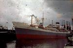 Ship 'City of Melbourne' at Grangemouth docks