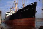 Ship 'Eugene Lykes' at Grangemouth docks