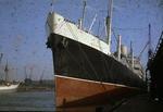 Ship 'Haurami' at Grangemouth docks