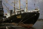 Ship 'Ossian' at Grangemouth docks