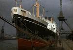 Ship 'Persic' at Grangemouth docks