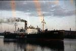Ship 'Rina' at Grangemouth docks