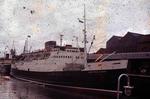 Ship 'Scottish Coast' at Grangemouth docks