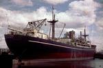 Ship 'Trecarne' at Grangemouth docks